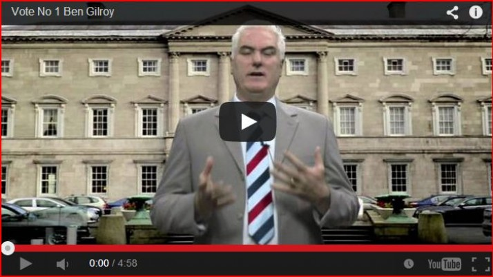MEP Election Message from Ben Gilroy