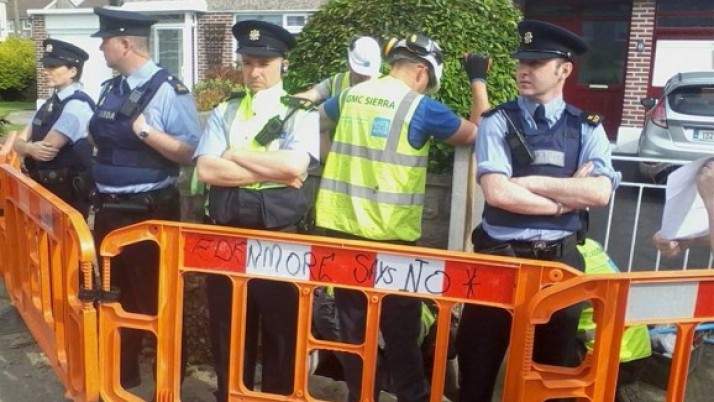 Gardai Appear to be Taking Sides in Water Meter Dispute