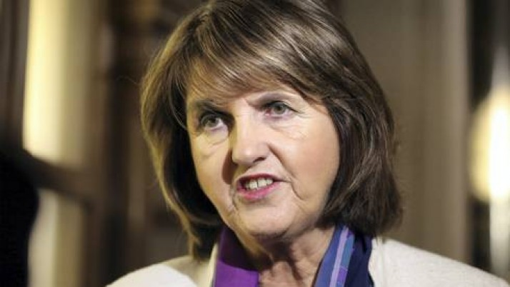 "Joan Burton Calls Protestors ""Fascists"" – Oh The Irony."