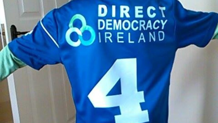 DIRECT DEMOCRACY IRELAND PROUD SPONSORS OF WELCOME YOUTH FC