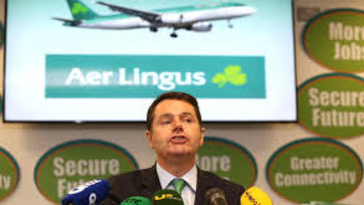 Sale of Aer Lingus is, the sale of the family silver
